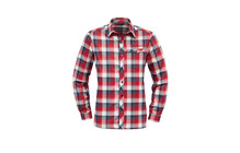 Vaude Neshan  chemise manche longue Homme LS Shirt  rouge/bleu